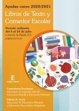 ayudas libros comedor y libros de texto 2.020-2.021